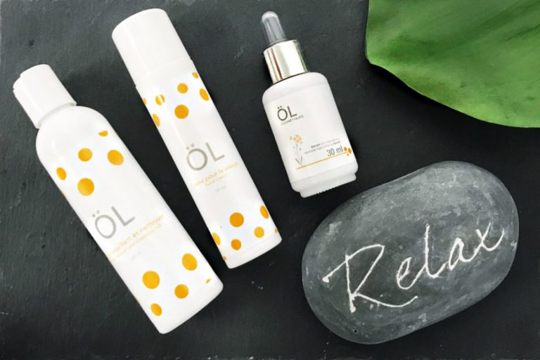 kit of ÖL cosmetics products