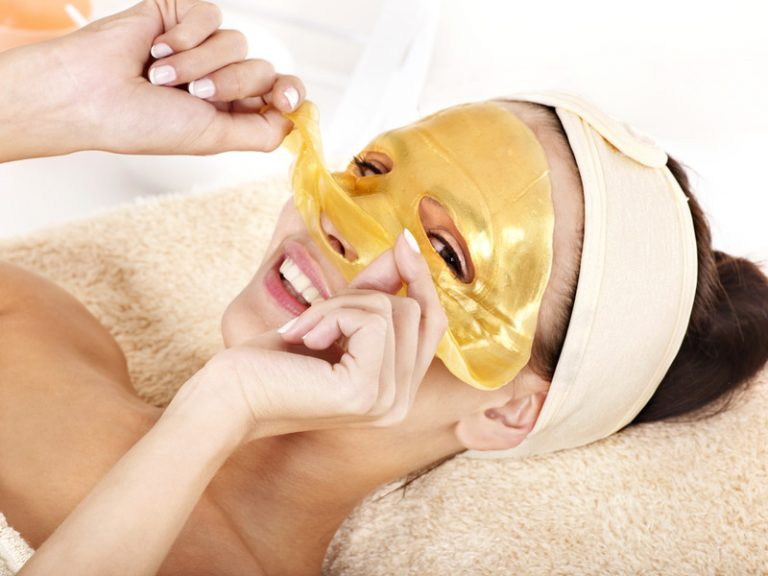 Traitement masque peau