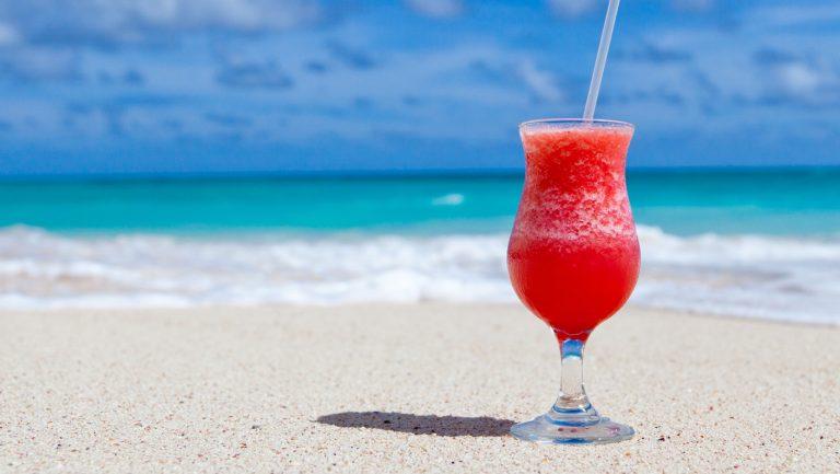 mocktail à la plage